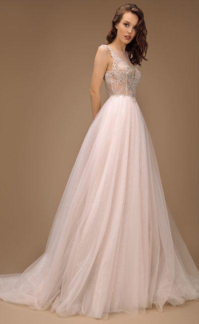 свадебное платье с классическим силуэтом
