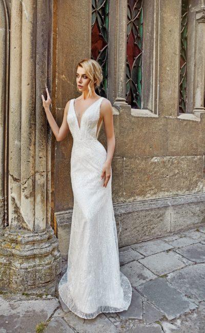 Свадебное платье с чувственным силуэтом русалка