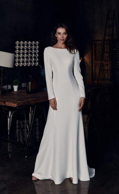 Венчальное платье с рукавом
