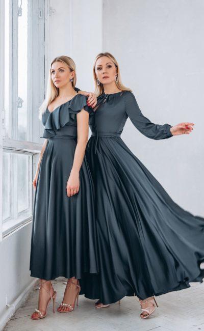 Вечернее платье длиной до щиколоток