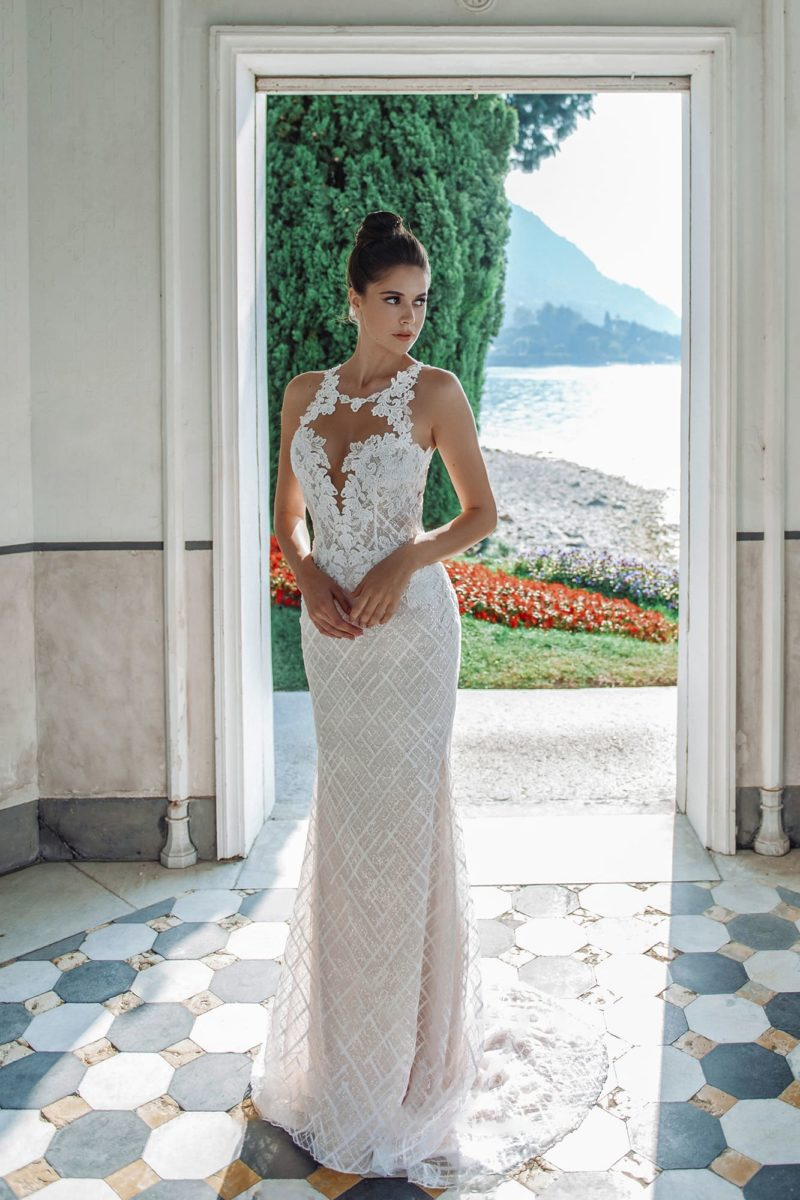 Свадебное платье силуэта русалка