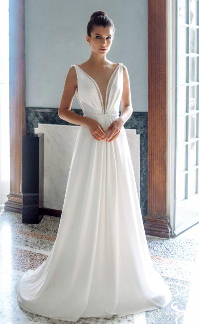 Открытое летнее платье