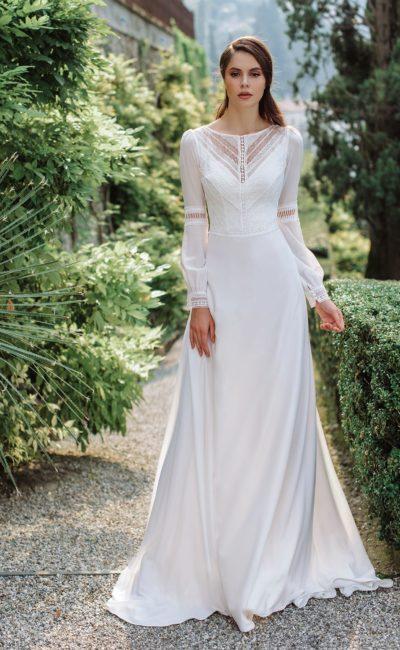 Cвадебное платье в этническом стиле