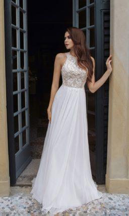 Cвадебное платье с приталенным силуэтом
