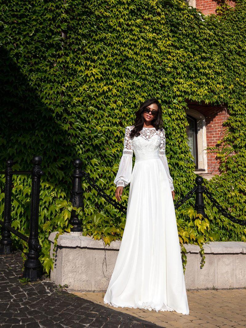 свадебное платье в этническом стиле