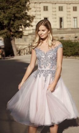 Свадебное платье для легкого, кокетливого образа