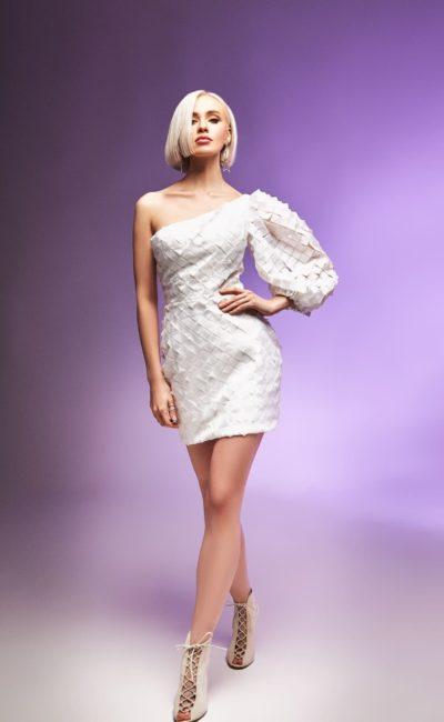 свадебное платье очень короткое