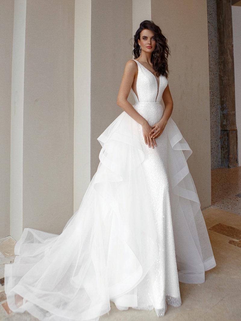 свадебное платье трансформер 2 в 1