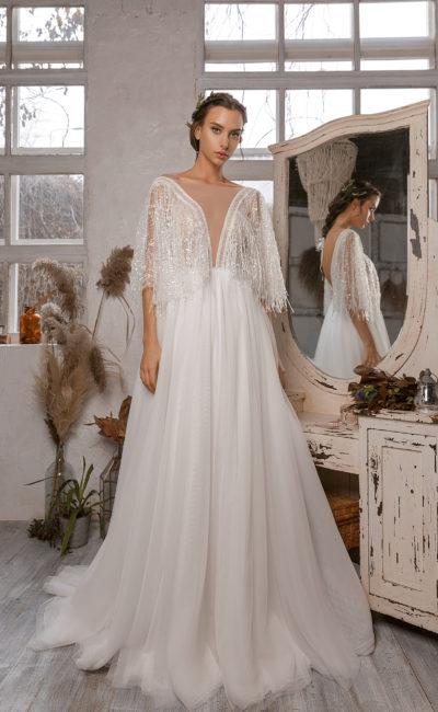 Платье в стиле бохо свадебное
