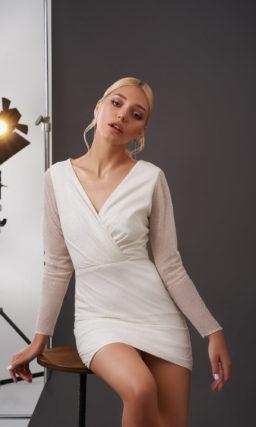 свадебное платье длины мини
