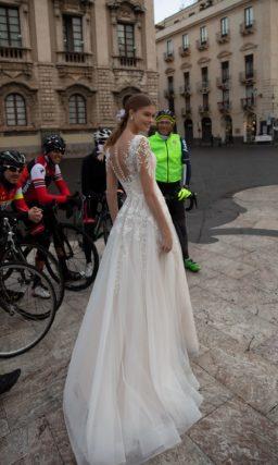 платье с высокой талией свадебное