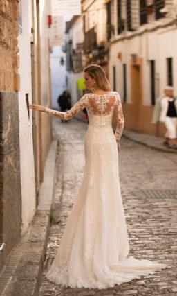 Свадебное платье фасона рыбка