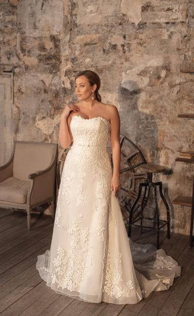 Свадебное платье-трансформер большого размера
