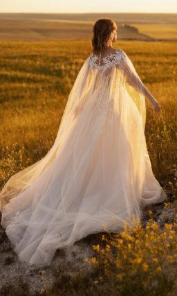 Открытое платье свадебное