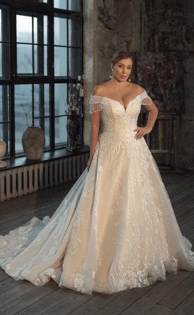 Платье большого размера для невесты
