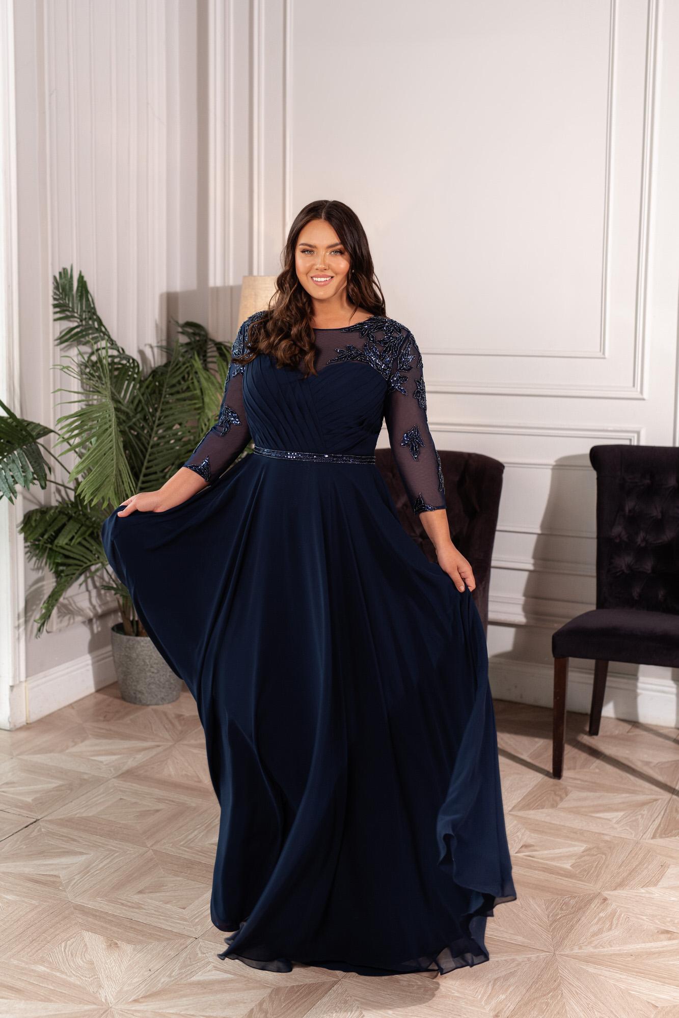 Свадебное платье Naviblue Bridal 32455C Ivory nude PS
