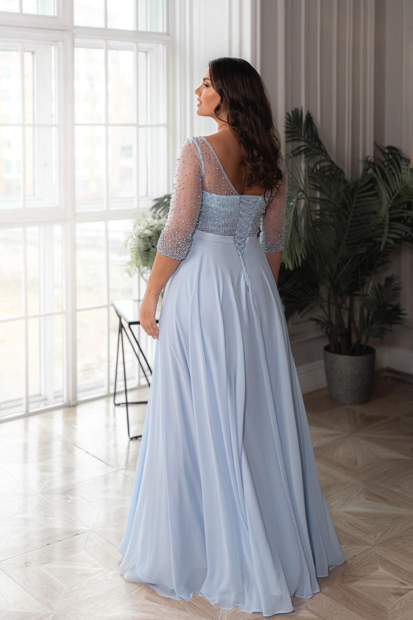 Свадебное платье Naviblue Bridal 32405C blue PS — купить в