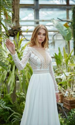 Платье кружевное в стиле этно
