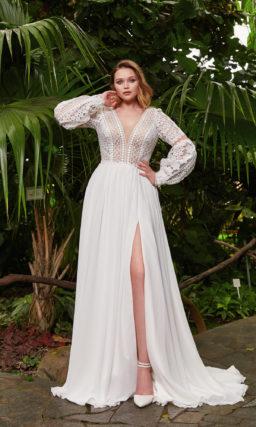 Cвадебное платье для невест с роскошными формами