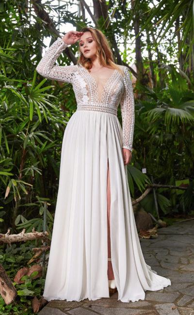 Свадебное платье plus size
