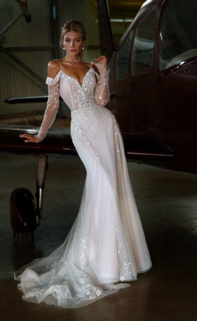 Свадебное платье фасона «рыбка»