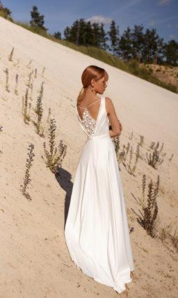 Простое платье свадебное