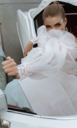 Воздушное свадебное платье