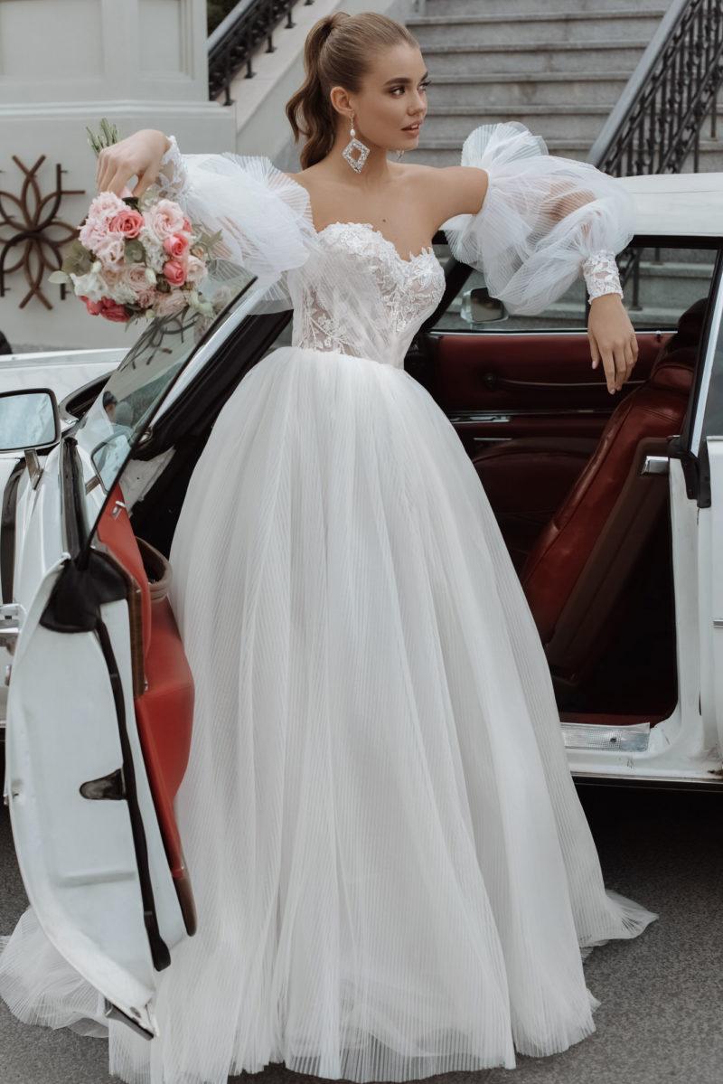 Восхитительное пышное свадебное платье