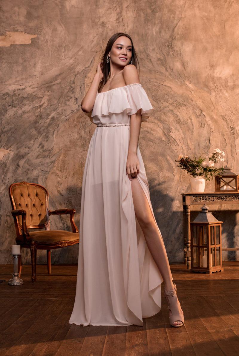 греческое платье с баской