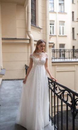 Cвадебное платье в стиле ампир