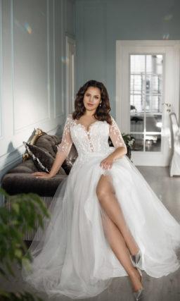 Свадебное платье для невест с роскошными формами