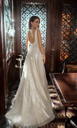 Cвадебное платье в оттенке слоновой кости