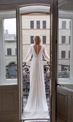 Cвадебное платье в стиле минимализм