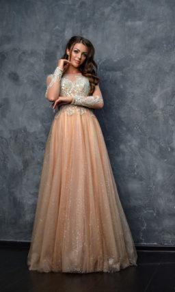 Вечернее платье длины макси