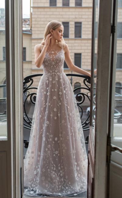 Благородное свадебное платье