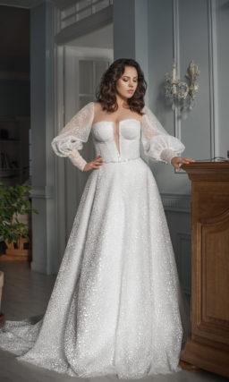 Свадебное платье на полную невесту