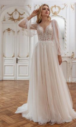 Cвадебное платье в бельевом стиле