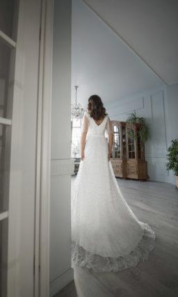 Свадебное платье для невест с пышными формами