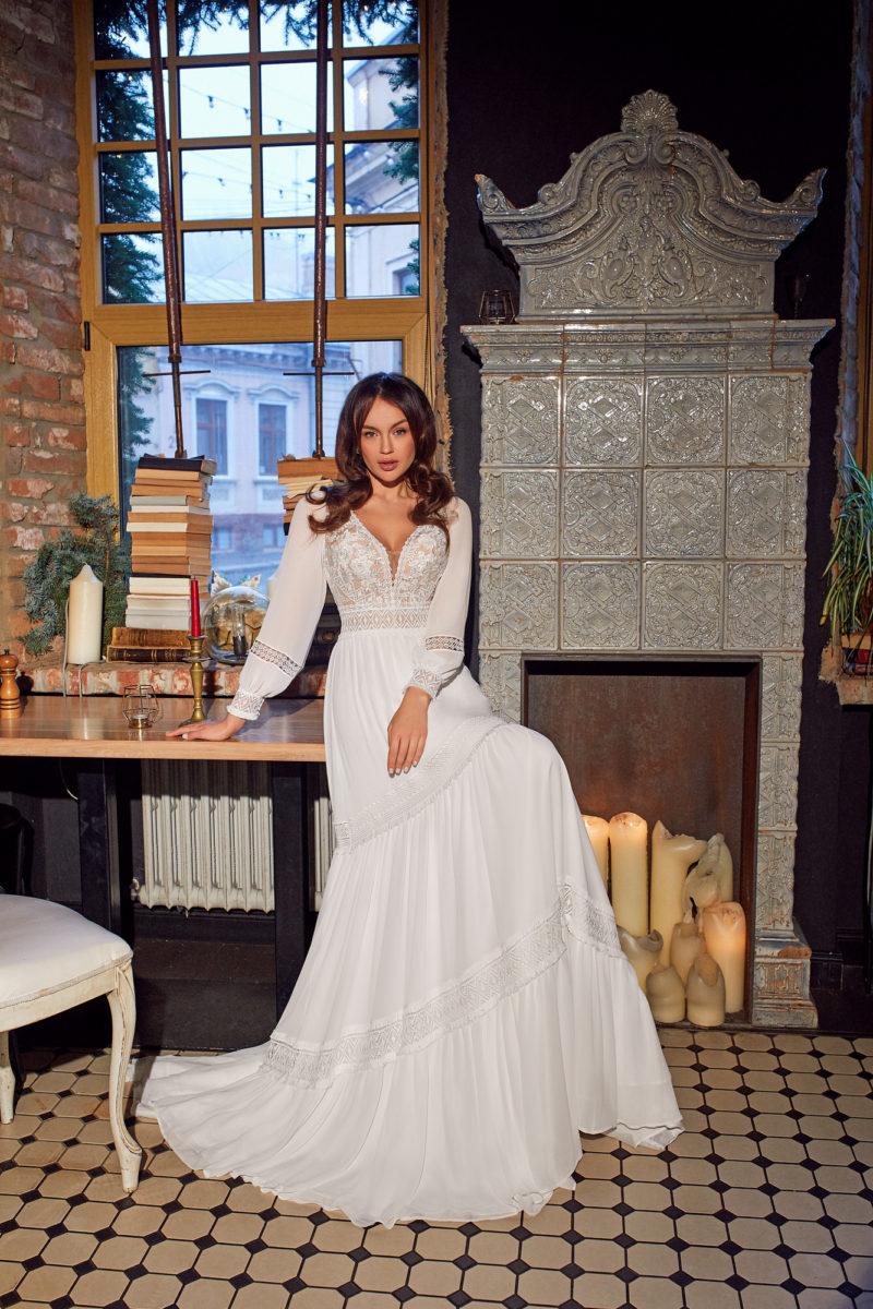 Свадебное платье в этно-стиле