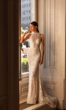 Красивое блестящее платье рыбка