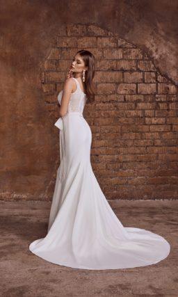 """Свадебное блестящее платье силуэта """"рыбка"""""""