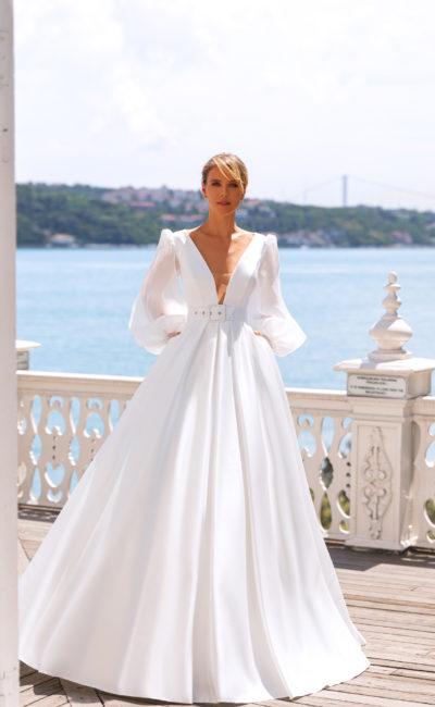Свадебное платье с элементами ретро