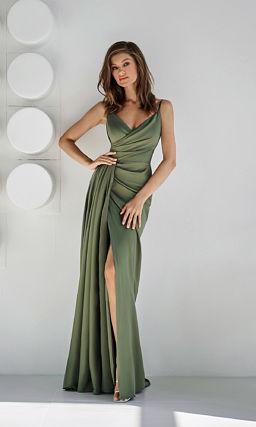 Зеленое платье для подруги невесты