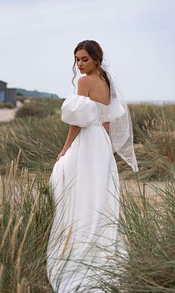 Свадебное платье простое но красивое